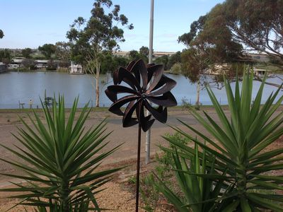 Photo for Riverglen retreat, marina frontage, river views, near The Bend Motorsport Park,