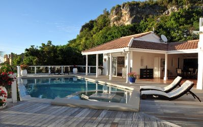ST TROPEZ... amazing views of the Caribbean Sea from this lovely villa in Pelican Key