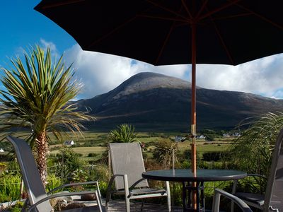 Photo for Croagh Patrick Apartment - self-catering for 2-3 on Bertra Strand, Westport, May
