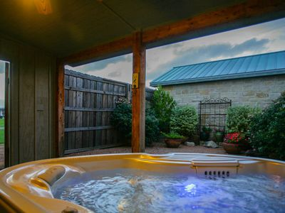 Photo for Absolutely Charming Alexander Suite, Close to Town and Wineries, Hot Tub!