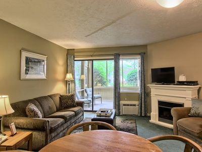 Photo for Why rent a room, when you can stay in a suite in downtown Charlevoix?