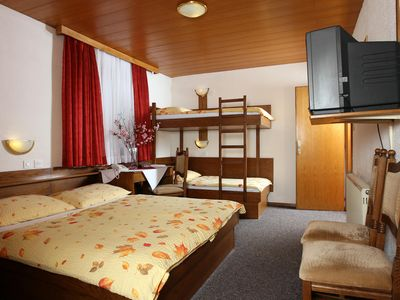 Photo for Ljubljana subrbs-Private Quad family room***, free parking, free wlan