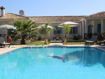 Photo for Spacious Villa with Private Pool, Sea and Mountain Views