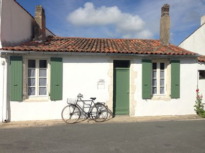 Photo for Typical fisherman's cottage in exclusive French seaside village