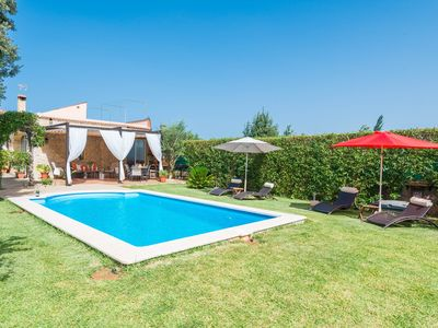 Photo for FINCA ALEGRE - Villa with private pool in Lloseta.