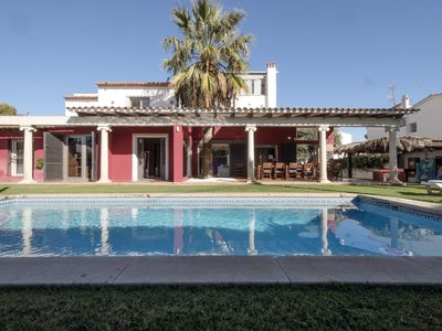 Photo for VILLA BOUGANVILLEA IN SITGES TERRAMAR