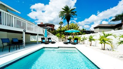 Photo for Bayside Escape - 4 BR Pool Home, 8 mi to Beach, Walking Distance to IMG