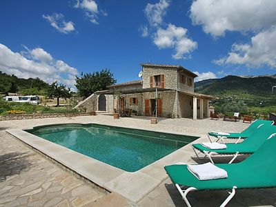 Photo for This 2-bedroom villa for up to 4 guests is located in Selva (Majorca) and has a private swimming poo