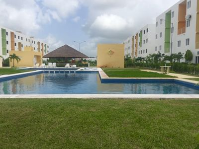 Photo for Family Apartment in Cancun with pool