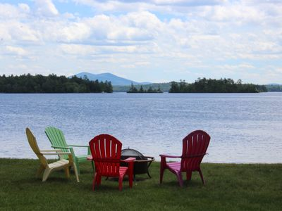 Photo for BUR36Wf - Waterfront with Shared Sandy Beach in Moultonborough
