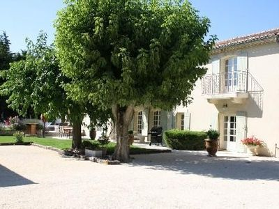 Photo for Country Provencal farmhouse near Grignan and the motorway exit, Bollene
