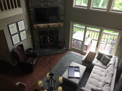 Photo for LUXURY 4 BR Ski In/ Out Condo with Hot Tub at Peek n Peak