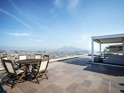 Photo for Terrazza Manù ... Naples at your feet ...