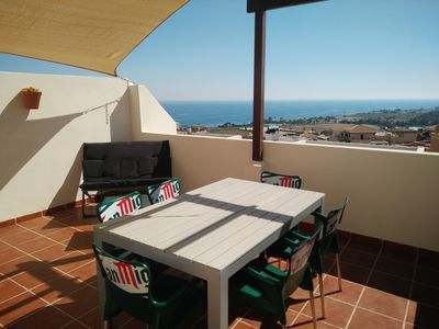Photo for Casa Valle Niza with beautiful terrace and sea view