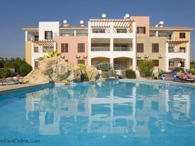 Photo for Megas Alexandros - 2 Bed, 2 Bath Luxury Sun Terrace Apt with Pool Access- Megas Alexandros