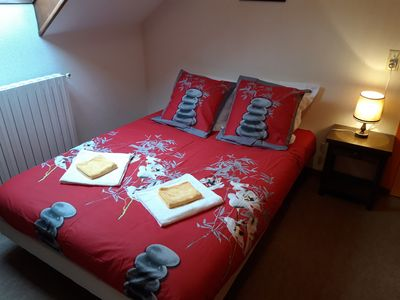 Photo for Comfortable family room for 4 people and more in the heart of lourdes