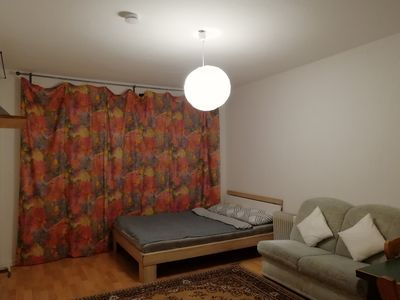 Photo for Cozy Room w/balcony in front of Aachen Hbf