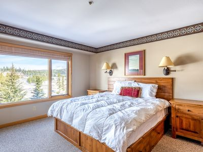 Photo for Ski-in/ski-out condo w/ shared hot tub & heated pool, at the base of Lone Peak