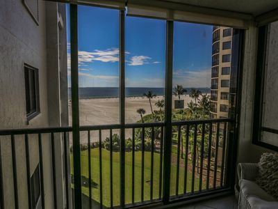 Photo for Sandarac 604B is a newly furnished and decorated two bedroom, two full bath, beach front condo