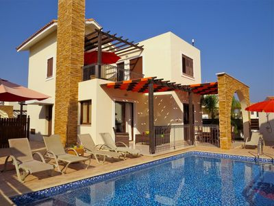 Photo for Villa Potamos, Private Pool And Sea Views with free wi-fi