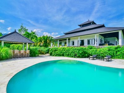 Photo for Villa Lovina Residence - Hillside Villa W/ Tennis Court, Private Pool, and Staff