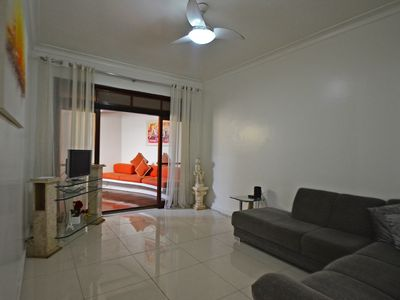 Photo for 4 bedroom penthouse with private pool and barbecue on the beach