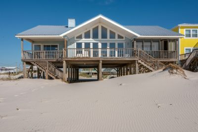 Photo for Blue Hideaway - Spacious 3 Bedroom Gulf Front Private Home, Sleeps 9
