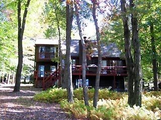 Photo for Lakefront Pocono Home - Beautiful Lake Views!  Central Air & WiFi!