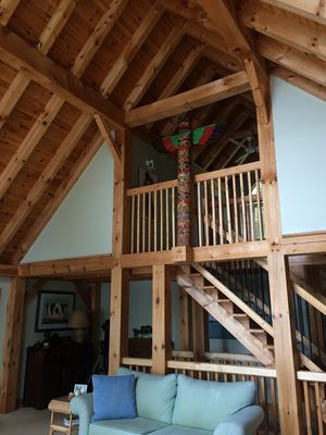 Photo for Fabulous 5 bedroom, 3 level post and beam cottage!