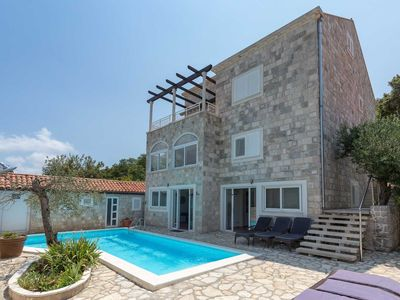 Photo for Villa Zaton Deluxe - 9 Bedroom Villa - Sea Views - Excellent Value - Perfect for Larger Groups