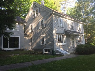 Photo for Charming 2 Bedrooom Guest House on 2 acres  North Conway Village.