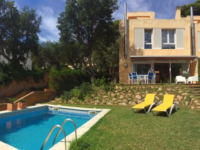 Photo for FANTASTIC HOUSE NEXT TO THE SEA WITH  PRIVATE SWIMMING POOL AND WIFI