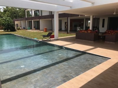 Photo for Dream house with large swimming pool and large volume, sported by an enthusiast.