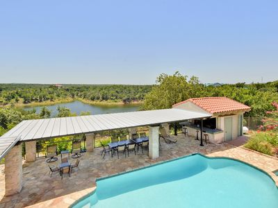 Photo for 7BR Beautiful Ranch Home w/ Private Pool & Lake Views