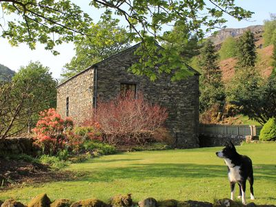 Photo for Cottages For Two, in Converted Barn. Close to Keswick, Stunning Views Helvelyn