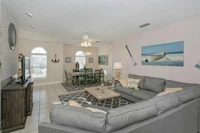 Living room w/Dining Area