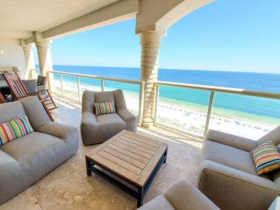 Photo for Open Oct 26-29* High Floor * Free Beach Chairs