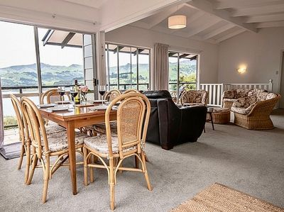 Stunning views from the open plan living area
