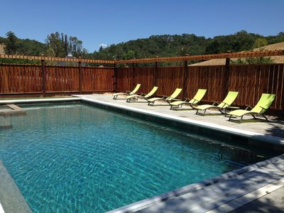 Photo for Healdsburg: Wine Country Retreat-Serenity, Swimming and Solitude