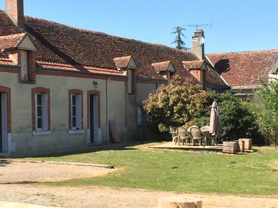 Photo for solognote calm and serene farmhouse - near the castles of the Loire