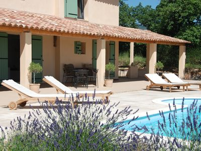 Photo for Provencal farmhouse renovated in a real natural setting