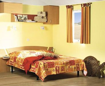 Photo for Camping Le Mondou *** - Mobile Home O'Hara 3 Rooms 4/6 People