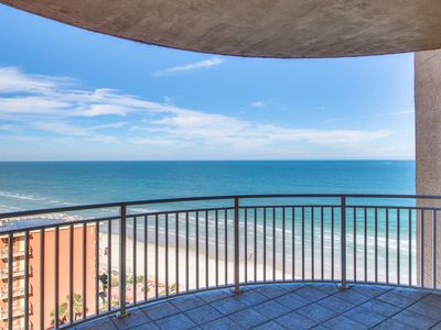 Photo for Luxurious oceanfront condo w/ shared pool and hot tubs - snowbirds welcome!