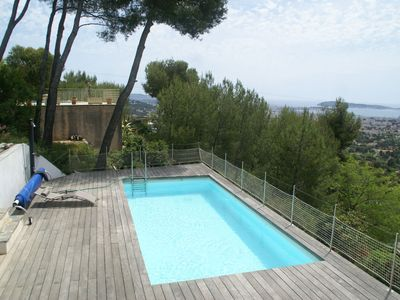 Photo for Detached villa with private pool and stunning panoramic view.