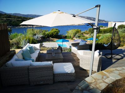 Photo for Magical: waterfront villa between Calvi and L'Île-Rousse in a prime location