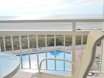 Photo for Charming Beachfront Condo, 4th Floor, One Bedroom Right on the Beach!