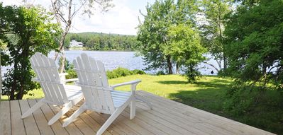 Photo for Cozy Lakefront Cottage - Booking now for summer 2019 weeks!