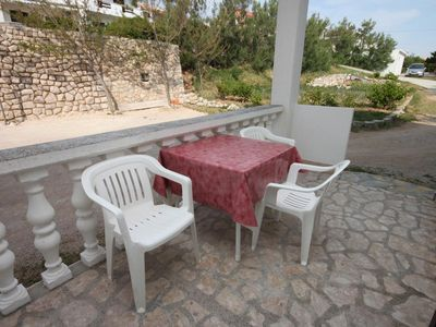 Photo for One bedroom apartment near beach Pag (A-6349-b)
