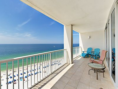 Photo for 15th Floor 3BR Gulf Coast Corner-Unit w/ 2 Balconies - Infinity Pool & Sauna