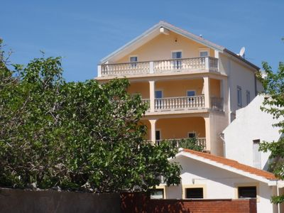 Photo for Holiday apartment with air conditioning and balcony with sea view